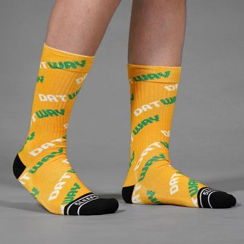 Datway Yellow Soft Socks