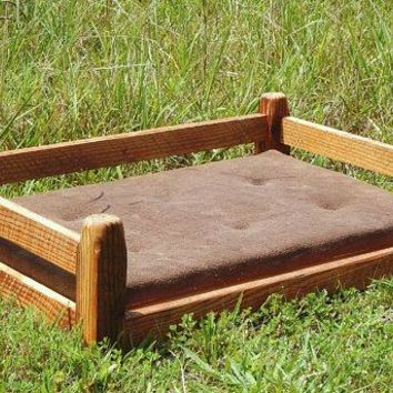 Reclaimed Barn Wood Dog Bed