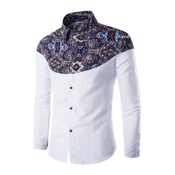 Patched Lux Button Up Shirts