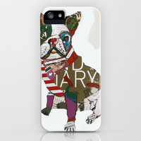 boston bull iPhone Case by bri.buckley