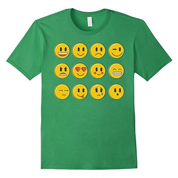 Smiley Emoticons Emoji T-shirt