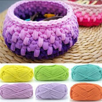 100g Creative Soft Kniting Crochet Wool Chunky Towelling Yarn 30m-35m/ball