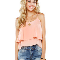 Papaya Clothing Online :: RUFFLE STRING CAMI TOP