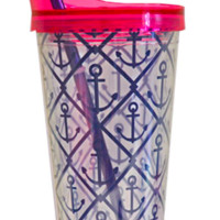 AFC Straw Tumbler- Classic Anchor