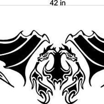Dragon GOT Hood Tailgate Decal Sticker Graphic