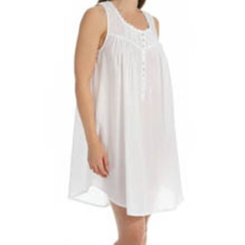 Eileen West 5315885 Solid Short Nightgown