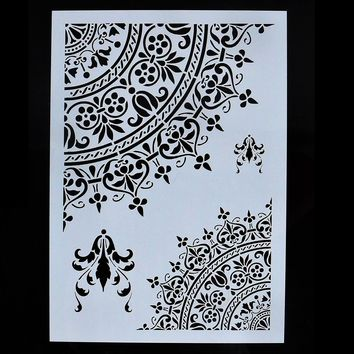 Stencils for Wall Painting DIY Scrapbooking Photo album Paper Card Making Craft Decorative Embossing Template