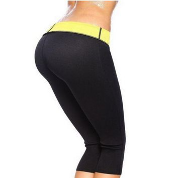 Neoprene Slimming Body Shaper Stretch Pant - Sweat And Loss The Weight