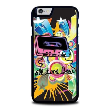 all time low retro cassete iphone 6 6s case cover  number 1