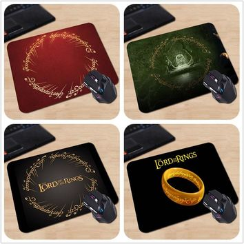 Babaite 100% New Direct Selling Large Gaming Mouse Pad The Lord of the Rings Custom Rectangle Non-Slip Rubber Gaming Mousepad