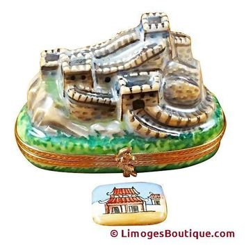 GREAT WALL OF CHINA LIMOGES BOX