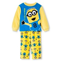 Despicable Me Toddler Boys' Minions Fleece Pajamas