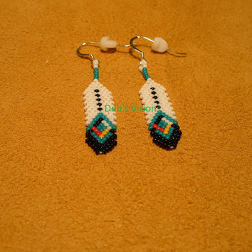Native American Style Brick Stitch Beaded From Debs Visions