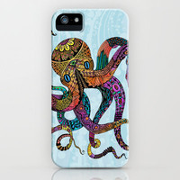 Electric Octopus iPhone Case by Tammy Wetzel   Society6