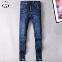 Boys & Men Gucci Fashion Casual Pants Trousers Jeans