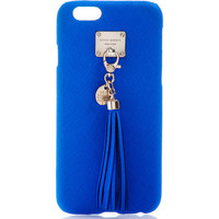 West 57th Leather Tassel Phone Case for iPhone 6