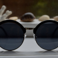 Dahlia Black Sunglasses