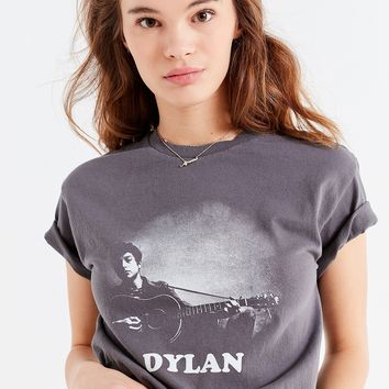Bob Dylan Guitar Tee | Urban Outfitters