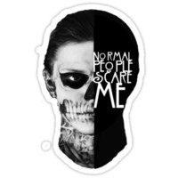 TATE: Normal People Scare Me
