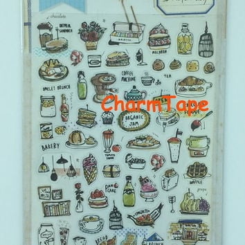Deco stickers Vinyl Sonia art sticker - Brunch Day 1 Sheets SS440