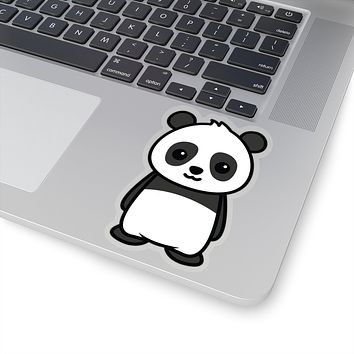 Panda Decal, Panda Sticker, Panda  Decal, Panda Sticker, Vinyl Decal, Car Decal, Yeti Decal, Cup Decal, Window Decal, Sticker Decal, Animal Sitcker