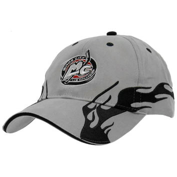 Motor City Mechanics Flame Logo Cap - Grey