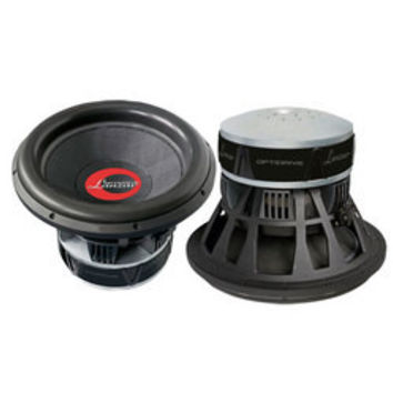 Optidrive 15'' Die-Cast Woven Carbon Fiber Cone Dual 2 Ohm Subwoofer
