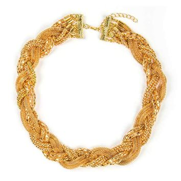 Knitting Collar Necklace