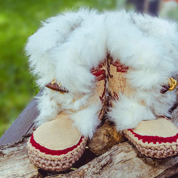Boho QUEEN Woman man Moccasins knit felt wool slippers pantoufles Pantoffel leather moccasins mocasín boots Minnetonka valentine gift love