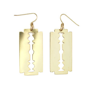 Zoot Razor Blade Earrings