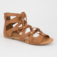 SODA Lace Up Womens Gladiator Sandals | Sandals
