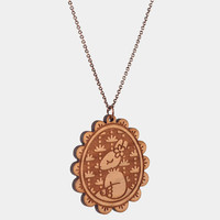 Country Bunkin Cameo necklace
