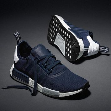 ADIDAS Women Running Sport Casual Shoes NMD Sneakers GREY-21