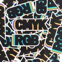 CMYK & RGB Sticker pack