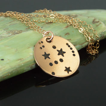 Rose Gold Filled Orion Necklace