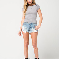 POLLY & ESTHER Gerber Womens Tee | Knit Tops & Tees