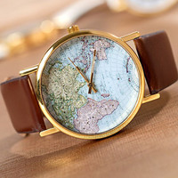 CUTE MAP WATCH S0120