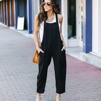 Candace Pocketed Jumpsuit
