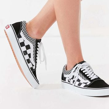 Vans Old Skool Black/White Checkerboard Sneaker