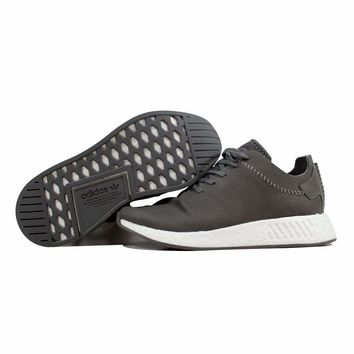 Adidas WH NMD R2 Ash/Ash-Off White Wings And Horns Leather BB3117