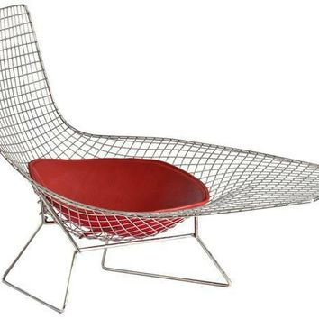 Authentic Knoll Bertoia Chaise from DWR