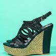 Laguna Beach Wedge - Black