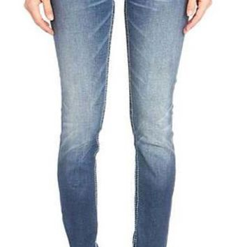 Miss Me Faux Flap Hailey Skinny Jeans