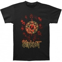 Slipknot Golden Outline T-shirt - Slipknot - S - Artists/Groups - Rockabilia