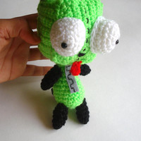 Gir Invader Zim plush toy amigurumi