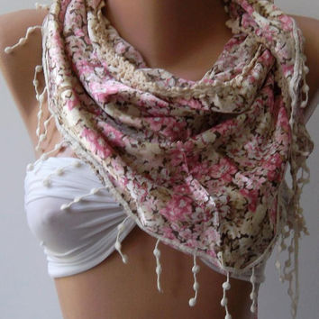 Elegance Shawl / Scarf.  Soft and light-