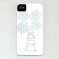 Calm Tree Palm Tree iPhone Case by Kate Perry | Society6