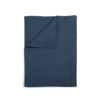 Linen Tea Towel (Slate Blue)