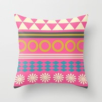 Colorful Decorative Throw Pillows