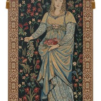The Flora Tapestry Wall Hanging